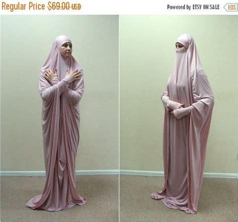 Khimar Rosya transformer blush khimar maxi dress transformer pink