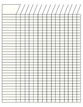 7 best images of printable grade sheet for students