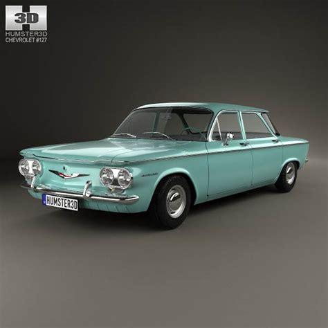 chevrolet 1960 models chevrolet corvair sedan 1960 3d model humster3d
