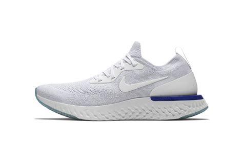 Sepatu Nike Epic React nike epic react flyknit nike debut in white hypebeast