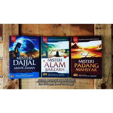 Misteri Dajjal By Buku Mulia kompilasi 3 buku misteri dajjal barzakh dan mahsyar