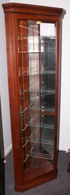 lighted corner curio cabinet mahogany mahogany lighted corner curio cabinet by pulaski furniture