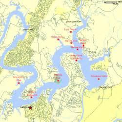 lake travis map map