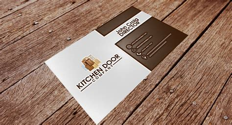 Replace Kitchen Cabinet Doors Business Card Design Contests 187 Captivating Business Card