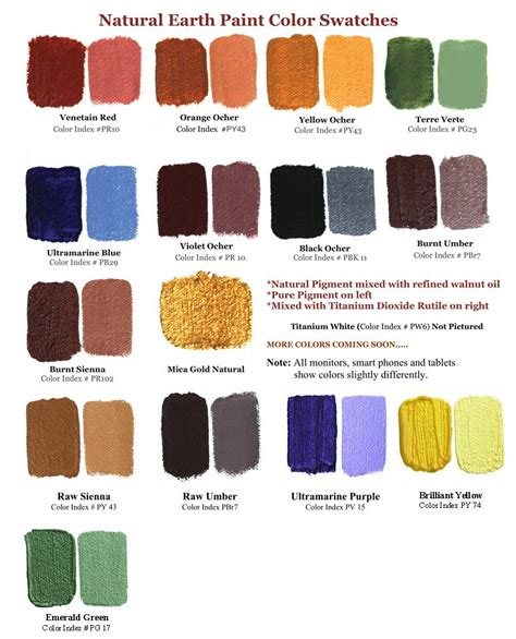 earth color mix your own watercolors with earth colors recipe