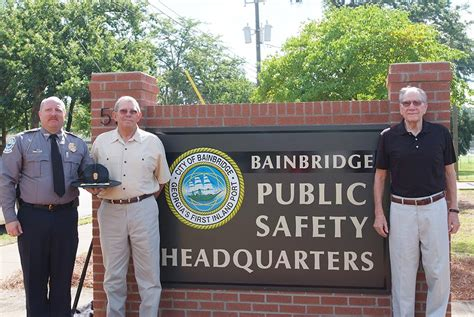 former bainbridge chief passes away sowega live