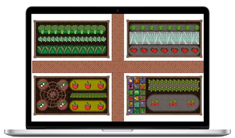 vegetable garden layout planner vegetable garden planner and garden design software