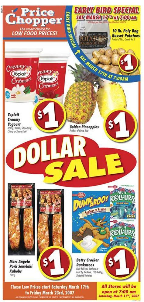 free printable grocery coupons price chopper price chopper canada grocery flyer dollar sale canadian