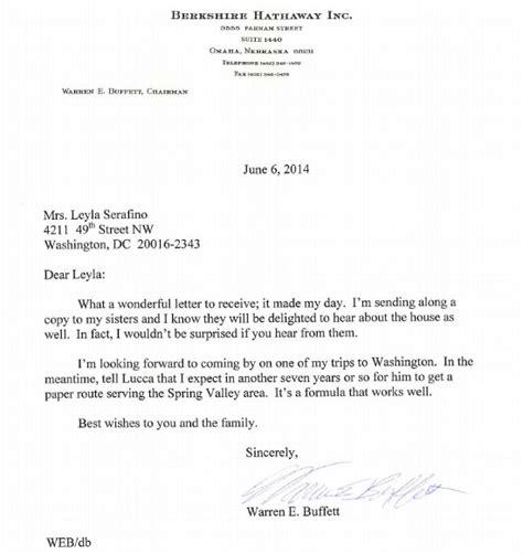 Buffett Letter