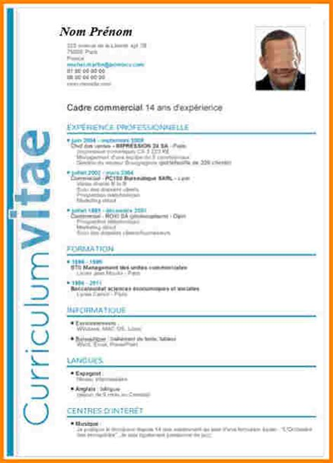 Comment Faire Un Cv En 2016 by Comment Faire Cv Cr 233 Er Un Cv Gratuit Jaoloron