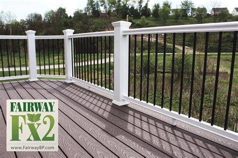 Patio Railing Accessories Porch And Deck Railing Vinyl Composite Aluminum