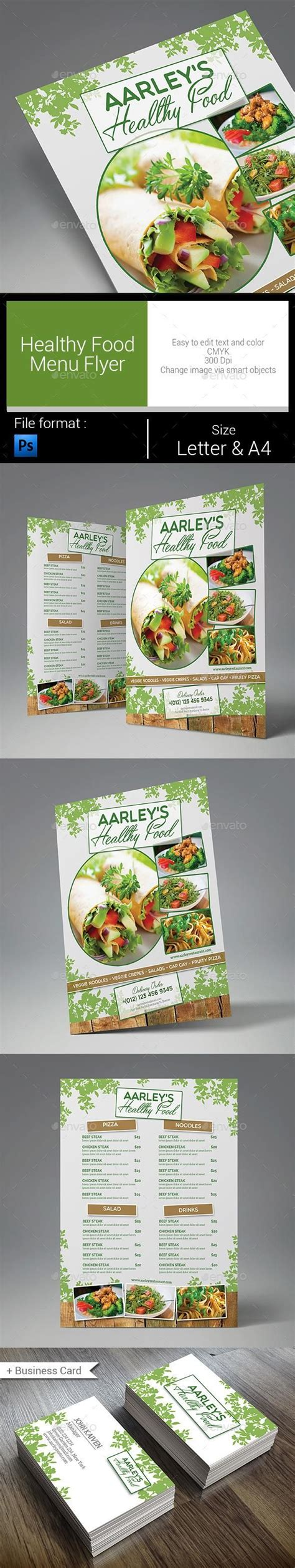 healthy menu template 17 best images about food menu templates on