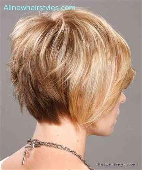 front and back views of chopped hair back view of inverted bob haircut allnewhairstyles com