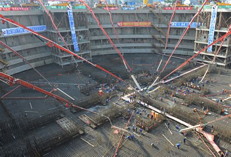 shanghai tower construction update planning and