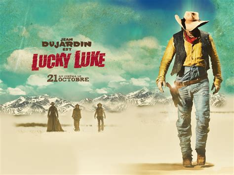 film cowboy lucky luke black hole reviews lucky luke 2009 jean dujardin