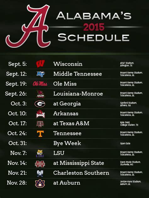 printable schedule for alabama football 2015 msu football schedule 2015 wallpaper wallpapersafari