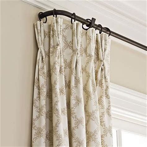 how to wrap a curtain around a rod wrap around curtain rod curtains french doors