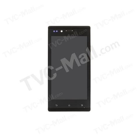 Lcd Touchscreen Frame Sony St 26 lcd assembly with touch screen digitizer frame oem replacement for sony xperia j st26i st26a