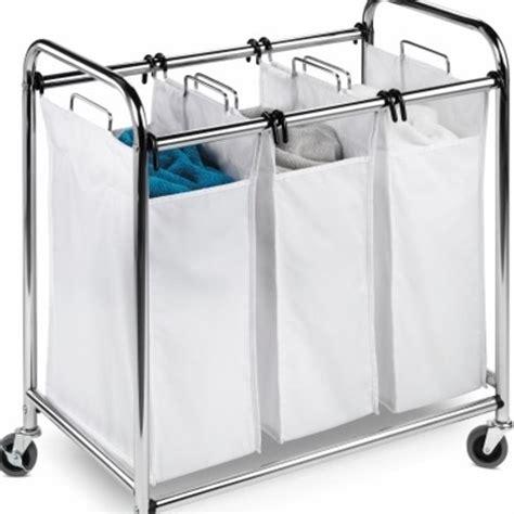 Bamboo Quad Laundry Sorter Laundry Separator