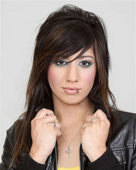 edgy long hairstyles with bangs 12 layered haircuts with bangs learn haircuts