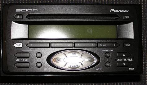 scion radio single disc toyota 4runner forum largest
