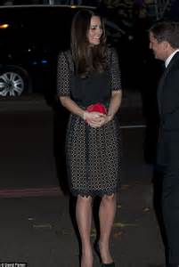 Designer Of The Moment Temperley by Duchess Of Cambridge Arrives In Stunning Black Temperley