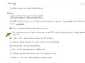 How To Stop Chrome From Searching In Address Bar How To Disable Suggestions In The Address Bar For Chrome Techdows