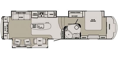 Redwood Rv Floor Plans by 2014 Redwood Redwood Rw38re Trailer Photos Pictures And