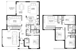 House Plans Two Floors by Awesome Modern Home Design Featuring Concrete Wc And