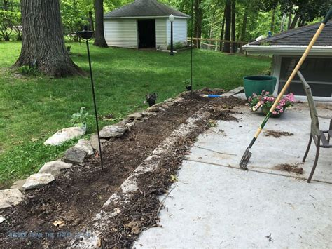 landscaping with rock instead of mulch bigger than the three of us