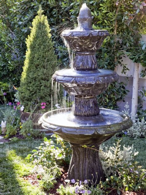 water fountains  gardens home depot  water fountain