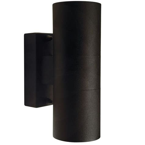 outdoor double wall light nordlux tin double outdoor wall light black