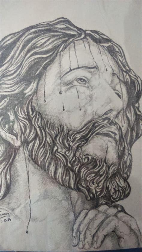 dibujos a lapiz de cristo dibujos a lapiz dibujos a boligrafo s grueso dibujos a lapiz obra religiosa