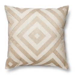 Sofa Pillows Target Metallic Neutral Throw Pillow Threshold Target