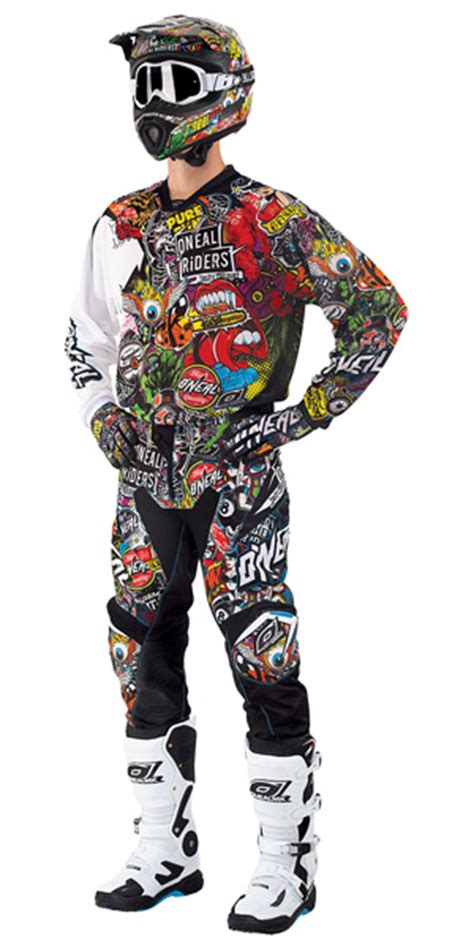o neal motocross gear o neal motocross dirt bike combo sets 2016