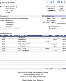 Billing Invoice Template Excel Free Billing Statement Template For Invoice Tracking