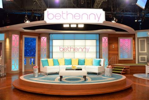 designing sets for oprah ellen tyra and now ricki the bethenny frankel on the set of her talk show colors the