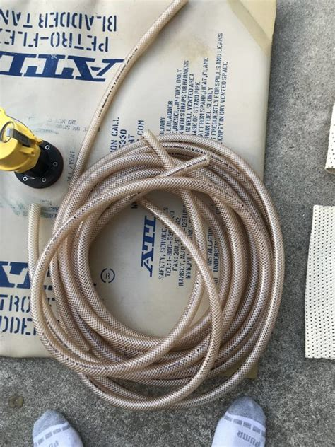 gallon atl collapsible fuel bladder  fittings