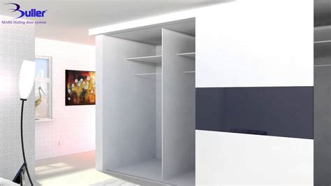 Sliding Door Systems For Wardrobes by How To Install Wardrobe Sliding Doors With Bullers Mars