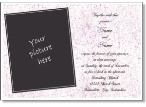 electronic wedding invitation card template printable wedding invitations free wedding