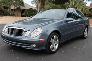 2003 Mercedes E Class 2003 Mercedes E Class Pictures Cargurus