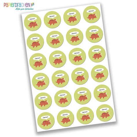 Sticker Mit Namen Kinder by 24 Personalisierte Aufkleber Schule Mit Dino Motiv F 252 R