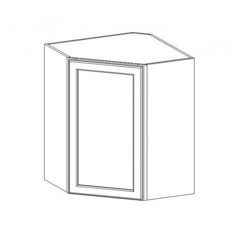 wdc2430 graystone shaker wall diagonal corner cabinet rta