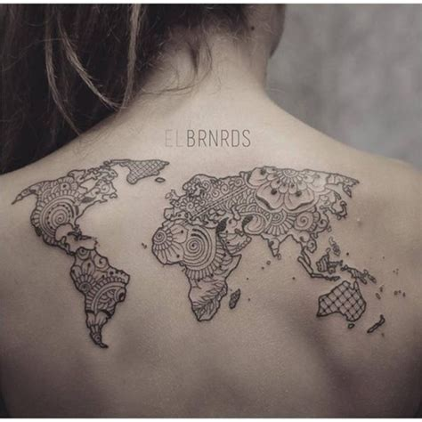 map tattoo designs creative map tattoos for the traveling type