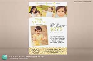 5x7 mini session marketing flyer flyer templates on