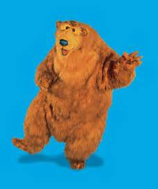bear big blue house character concept art