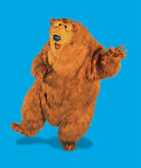 Bear From The Big Blue House Character And Concept Art Pinterest