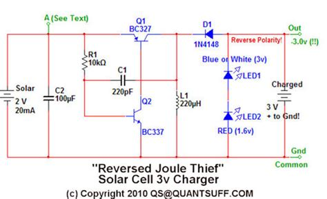 joule thief charging capacitor the quot joule thief quot battery charger