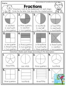 25 best ideas about fractions of shapes on pinterest