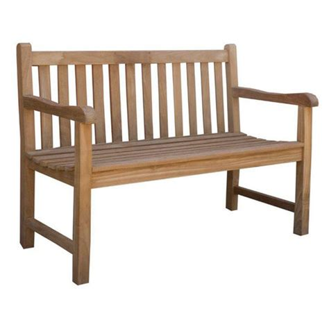 vc living classic teak outdoor bench seat reviews